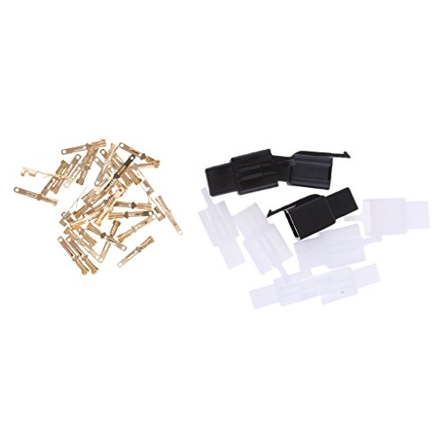 MagiDeal SPADE CONNECTOR TERMINAL MALE FEMALE ELECTRICAL WIRE CRIMP ASSORTED: