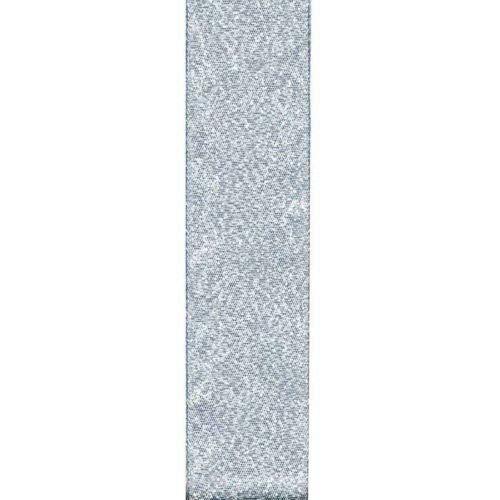 Ribbon Art Craft Decoration 5 Yds Galena Silver Metallic MESH Ribbon 7/8