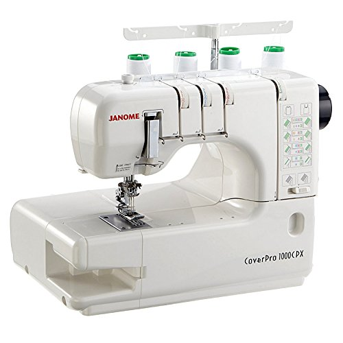 Janome Cover Pro 1000CPX Cover Stitch Machine and Kit by Janome