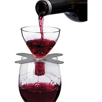 Ullo Wine Purifier Reviews >> Amazon.com | Metrokane Rabbit Swish Wine Aerator 6150: Bar ...