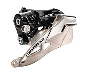 SRAM X.0 2X10 Low-Clamp Bottom Pull 31.8/34.9 38/36T Front Derailleur