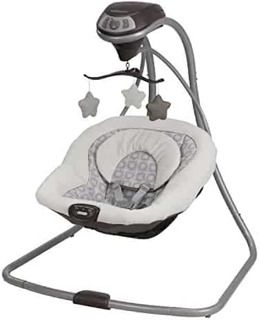 Graco Simple Sway Baby Swing, Abbington, One Size