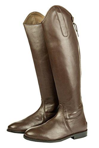 HKM–Botas de equitación Italy Soft Piel estándar de largo/ancho Marrón - marrón