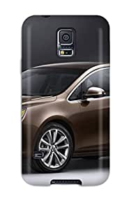 Hot QhNFpSF15824fpbDN Buick Verano Brown Side And Front Tpu Case Cover Compatible With Galaxy S5