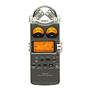 Sony PCM-D1 Professional Portable 24-bit Linear Audio Recorder