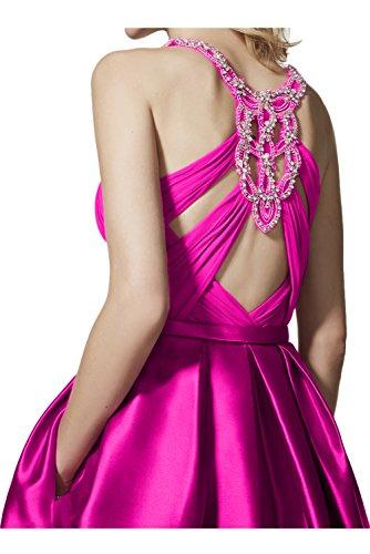 TOSKANA BRAUT - Vestido - trapecio - para mujer borgoña