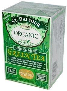 ST DALFOUR GREEN TEA,OG2,SPRING MINT, 25 BAG CASE_6