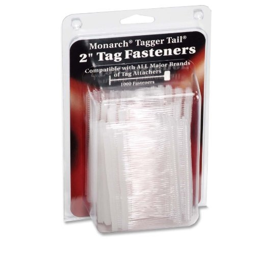 Monarch 925045 Tagger Tail Fasteners, Polypropylene, 2-Inch Long, 1,000/Pack