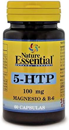 Triptófano (5-htp 100 mg.) 60 cápsulas con magnesio y vitamina B-6: Amazon.es: Salud y cuidado personal