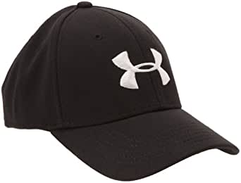 Men's Armour® Stretch Fit Cap Headwear by Under Armour Combo Medium & Large Red