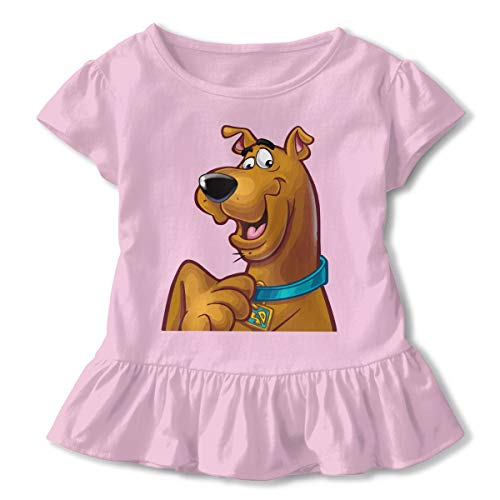MyLoire Scooby Doo Toddler Girls' T Shirt Cotton Basic Outfit Tee Pink]()