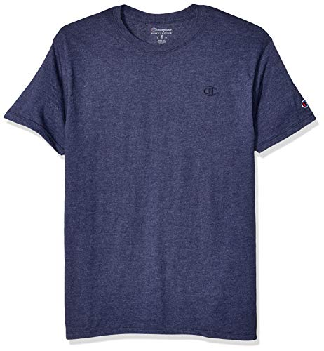 Champion Men's Classic Jersey T-Shirt, Imperial Indigo Heather, Small ()