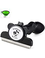 IrisCargo Deshedding Tool Dogs & Cats Grooming Brush Effectively Reduces Shedding By Up To 95% for Dogs and Cats