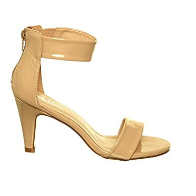 Low Heel Ankle Strap