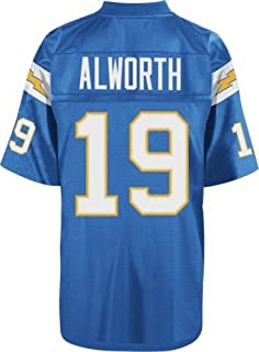 46e622527fad9 Mitchell & Ness Lance Alworth 1963 San Diego Chargers Home Light Blue Jersey