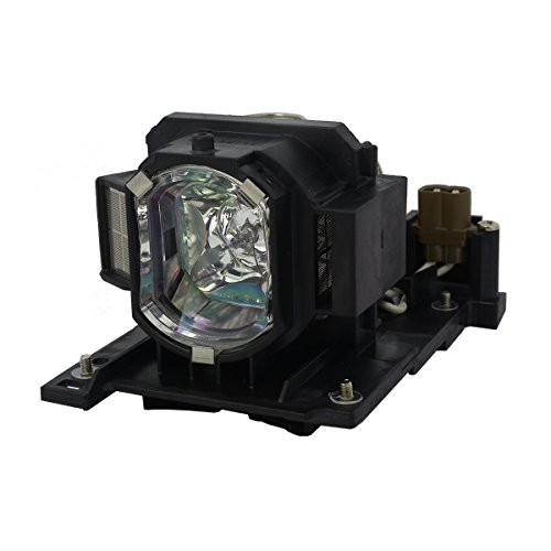 AuraBeam Projector Replacement OEM Lamp Enclosure, with Generic Housing, for Hitachi DT01021 / DT01025, (powered by -