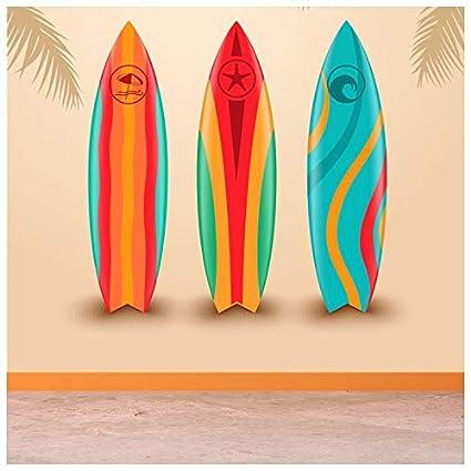 azutura Diseño de Surf Fotomurales Tabla de Surf Papel Pintado Dormitorio Deportivo Decoración del hogar Disponible