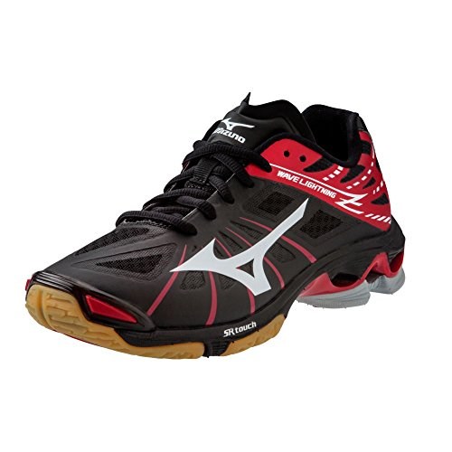 Mizuno Wave Lightning Z Dames Volleybalschoenen - Zwart & Rood (womens 12)