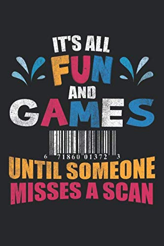 It's All Fun And Games Until Someone Misses A Scan: Mailman Journal Postal Worker Gift Mail Carrier Notebook Post Office - 120 Blank Lines Pages Notebook Diary Letter Carrier Memory - Letter Carrier