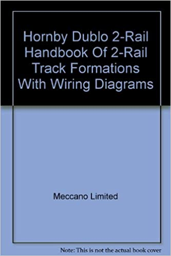 hornby dublo 2-rail handbook of 2-rail track formations with wiring diagrams:  amazon co uk: books