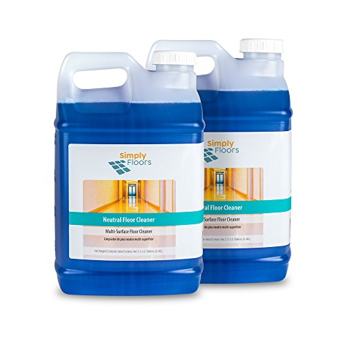 (Simply Floors FLC-00012 Neutral Floor Cleaner, Concentrate - [Pack of 2 - 2.5 gallon bottles]  Environmentally preferable floor and Multi-Surface Cleaning Solution with pH 6.0-7.0, Dilution Rate from 1:16)