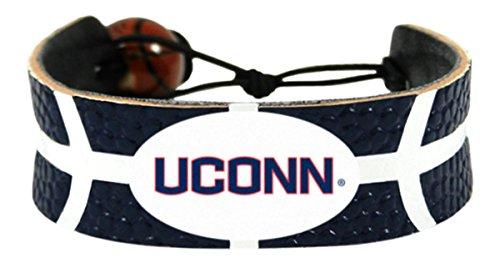 Connecticut Huskies Team Color  Basketball Bracelet