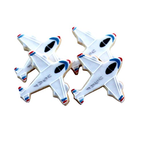 ½ Dz. Plane Cookies! Lots of Styles! USAF, Navy, Military, Pilot Themed Birthday Party Favors or Ceremony Gift!