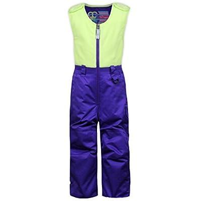 Snow Dragons Baily Bib Girl's- Purpleicious/ Spring Green 3