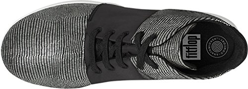 FitFlop Womens Sporty-Pop x High-Top Sneaker Black cdN8hYtCD