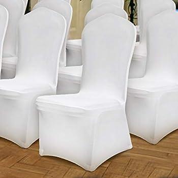 Amazon.com: Newtend 100 fundas universales para sillas de ...