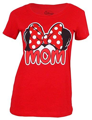 Disney Fitted Tee Mom Fan Tee