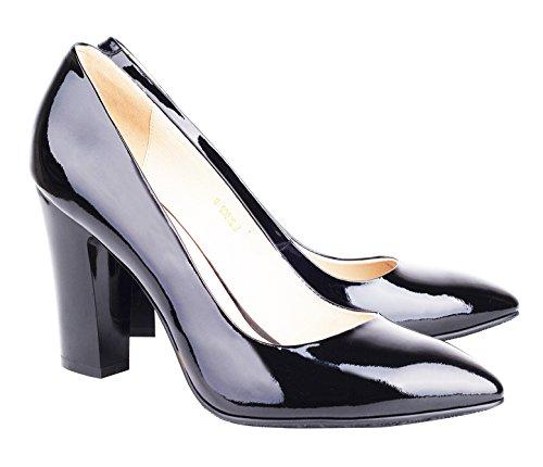 NIUERTE NIUERTEWife - Zapatilla Alta Mujer, Color Negro, Talla 43 EU