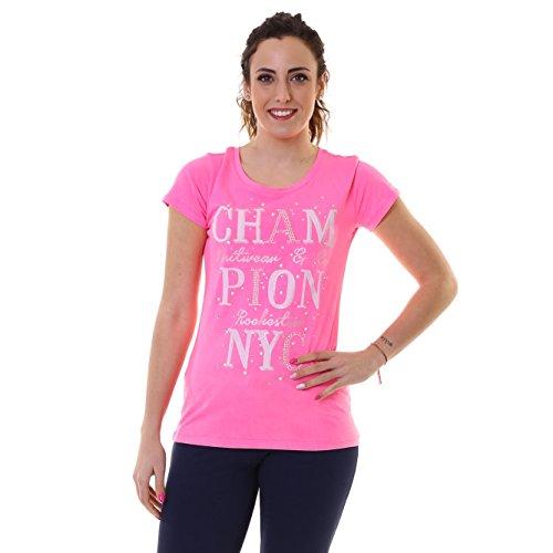 Champion w-t-shirt Rosa