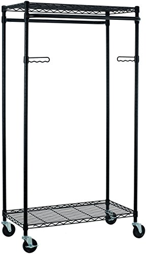 Tidy Living Heavy-Duty Garment Rack, Bronze by Tidy Living