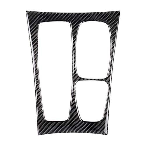 TOOGOO 1Pcs Carbon Fiber Car Center Console Gear Shift Panel Cover Trim for BMW X5 E70 X6 E71