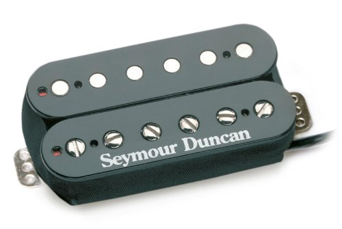Seymour Duncan TB-11 Custom Custom Trembucker Pickup, Black Cover (Bridge Dsl)