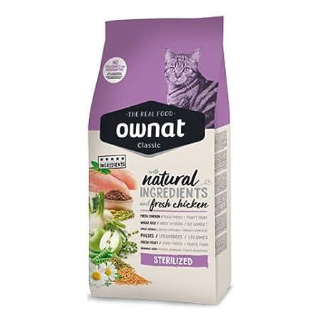 Ownat 031427 Alimento Seco para Gatos - Paquete de 2 x 4000 gr - Total: 8000 Gr: Amazon.es: Productos para mascotas