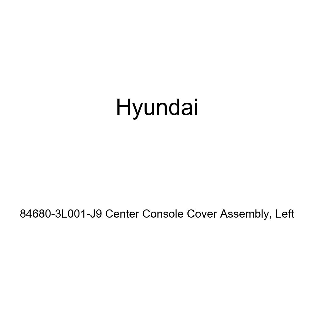 Genuine Hyundai 84680-3L001-J9 Center Console Cover Assembly Left