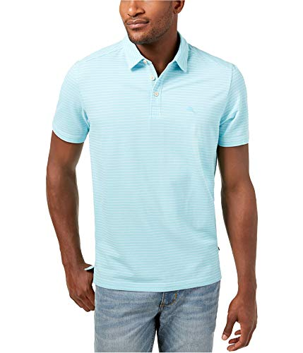 Tommy Bahama Island Zone Marina Marlin Golf Polo Shirt (Color: Bowtie Blue, Size XXL)