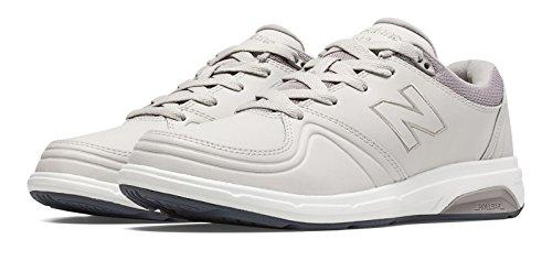 (ニューバランス) New Balance 靴?シューズ レディースウォーキング New Balance 813 Off White with Light Grey and Lead オフ ホワイト ライト グレー リード US 6.5 (23.5cm)