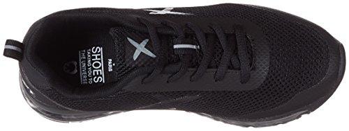 ope 2 amp; Adulto Black wize Xrun Nero Basse Sneaker Unisex z5qF6B