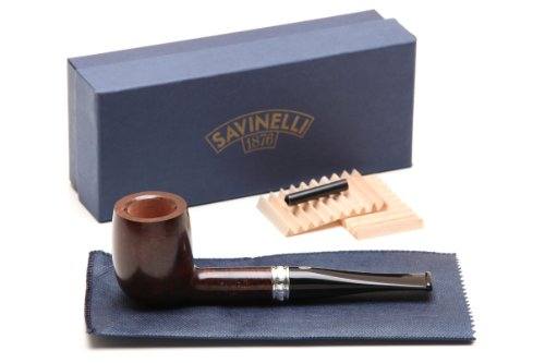 Savinelli Trevi Smooth 111 KS Tobacco Pipe by Savinelli