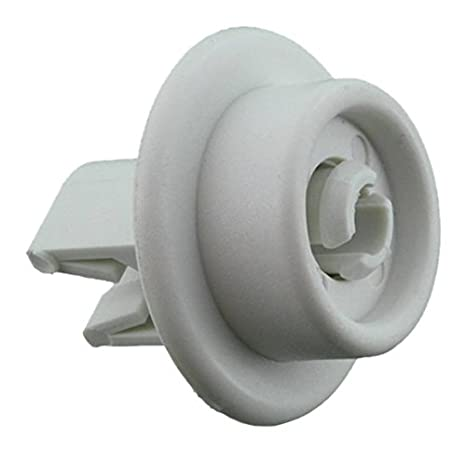 Zanussi genuino original – Rueda para cesta inferior de y Pivot Pin Asamblea para AEG f44740
