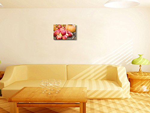 Fruits and Vegetables in Autumn Outdoors Thanksgiving Holiday Concept Wall Decor