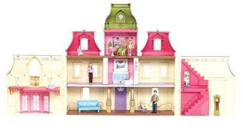 Amazon Com Fisher Price Loving Family Dream Mega Set Dollhouse W