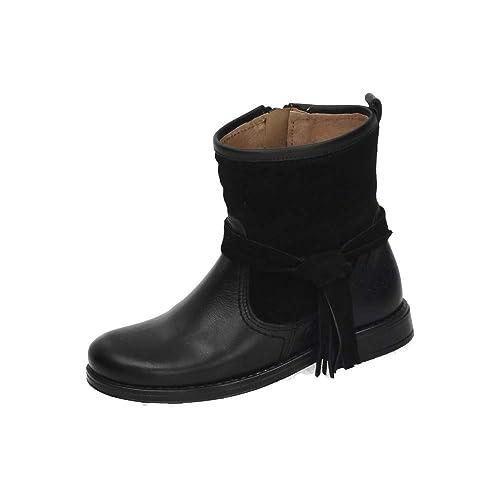YOWAS 8860V Bota Invierno Piel NIÑA Botas-Botines: Amazon.es: Zapatos y complementos