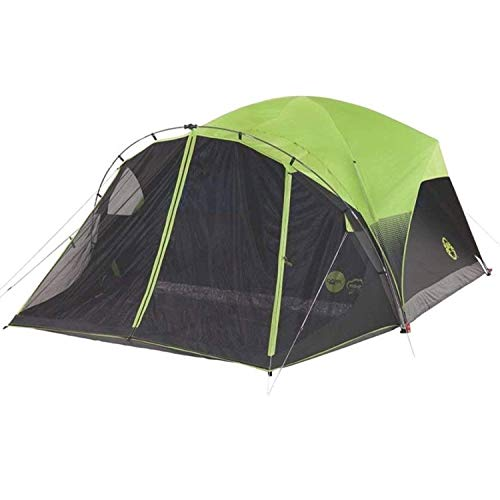 Coleman Dome Tent with Screen Room | Carlsbad Camping Tent with Screened-in ()