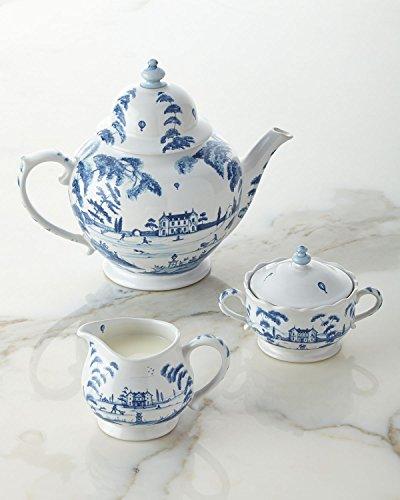 Juliska Country Estate Teapot Delft Blue Main House