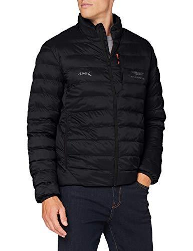 Hackett London Men's AMR Quilted Jacket, Black