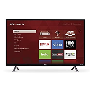 "TCL 32S305 32"" 720p Roku Smart LED TV (2017 Model)"